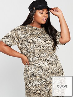 v-by-very-curve-snake-oversized-t-shirt-printed