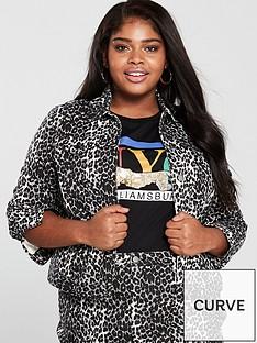 v-by-very-curve-animal-denim-jacket-printed