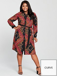 v-by-very-curve-chain-print-shirt-dress-printednbsp