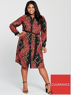 v-by-very-curve-chain-print-shirt-dress-printednbsp
