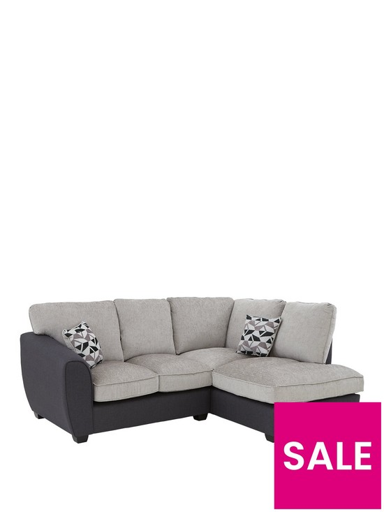 Grey Chaise Sofa Uk Nice Houzz