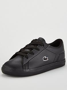 lacoste-lerond-bl-2-infant-trainers-black