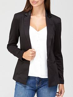 54734f12c8be6 V by Very Ponte Jacket - Black