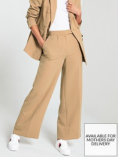 v-by-very-wide-leg-fashion-trouser-camel