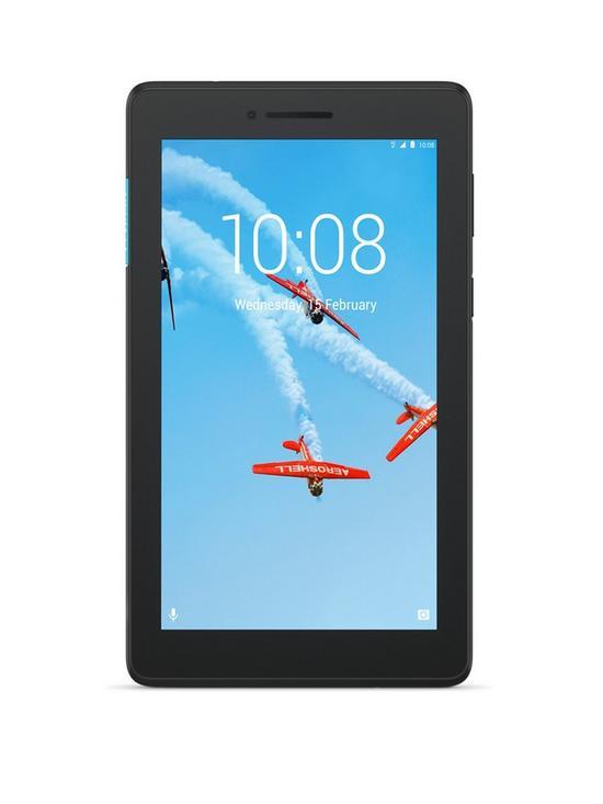 Lenovo Tab E7 7-inch 16GB Tablet - Black   very co uk