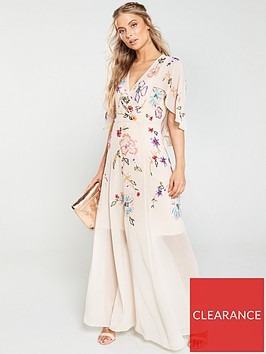 v-by-very-embellished-cape-maxi-dress-blush