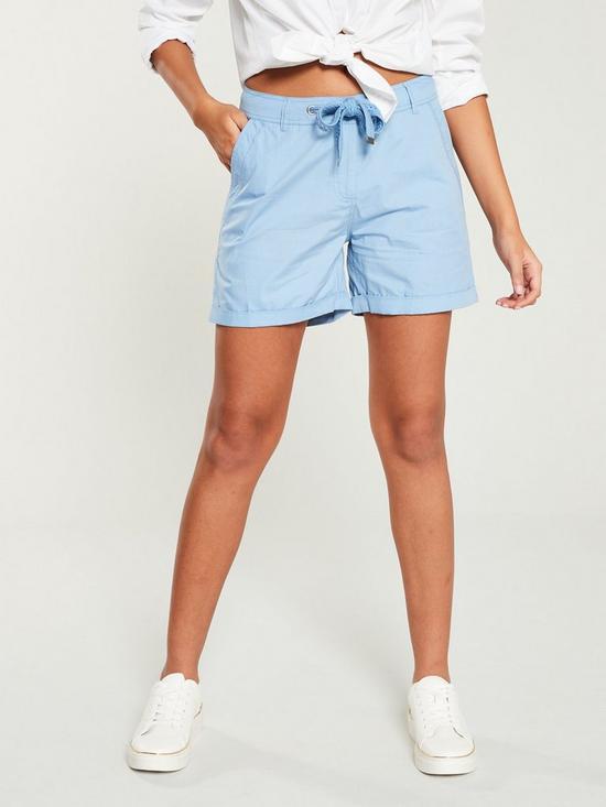 be157bb6a4 V by Very Poplin Shorts - Soft Blue | very.co.uk