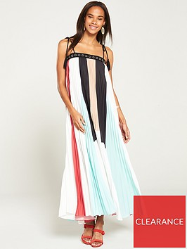 v-by-very-colour-block-pleated-maxinbsp-dress-multi