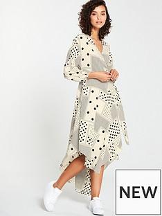 v-by-very-spot-print-maxi-dress