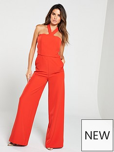 bf0d234bf36 V by Very Scalloped Jumpsuit