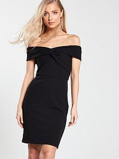 626809ac0817 V by Very Bardot Bodycon Dress - Black