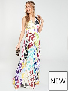 d25812b653d9 V by Very Multi Leopard Maxi Dress