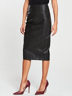 v-by-very-snake-textured-pencil-skirt-blacknbsp