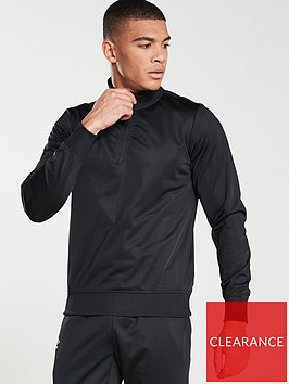 umbro-club-training-half-zip-top-black