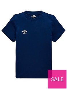 umbro-junior-club-short-sleeved-training-t-shirt-navy
