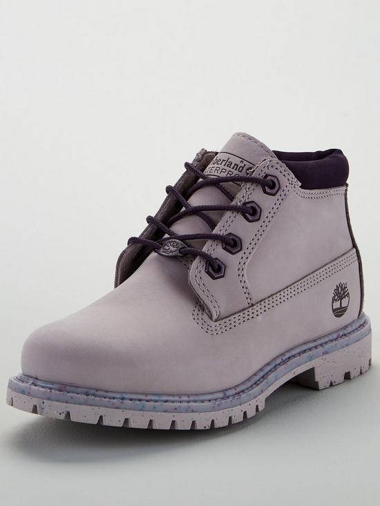 83c774e877f0 Timberland Nellie Chukka Double Ankle Boots - Purple Black