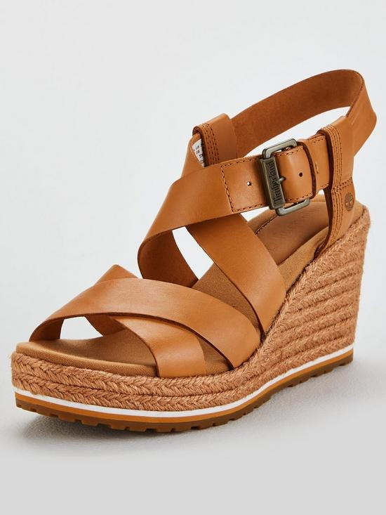 BeigeVery Timberland Coast Sandals Wedge uk co Ankle Nice Strap LGqUVzSMjp