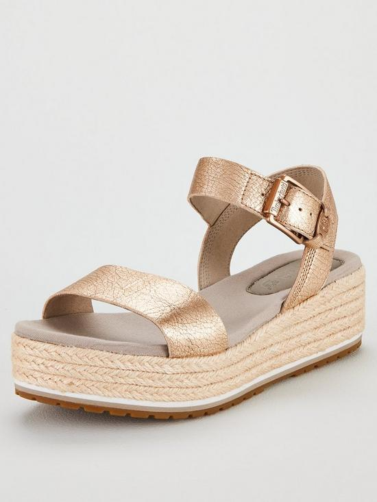 bfc20d90d69 Santorini Sun Wedge Sandals - Rose Gold