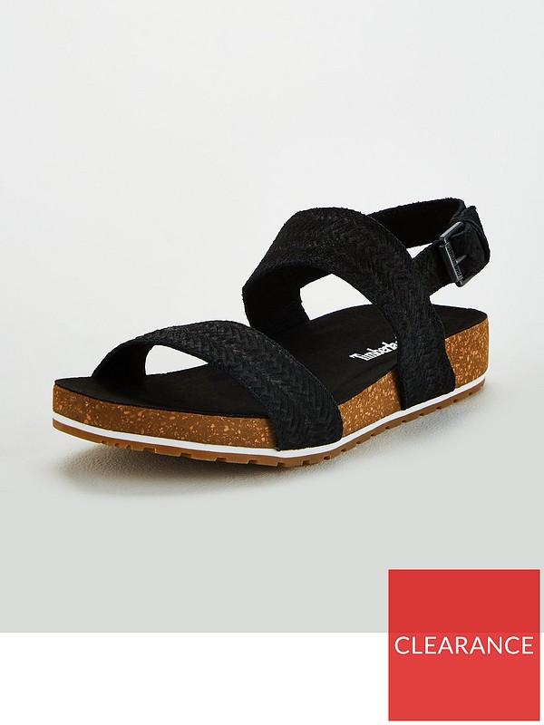 Novelista Avispón En consecuencia  Timberland Malibu Waves Flat Sandals - Black | very.co.uk
