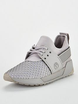 timberland-kiri-up-lace-panel-mesh-pattern-trainers-grey