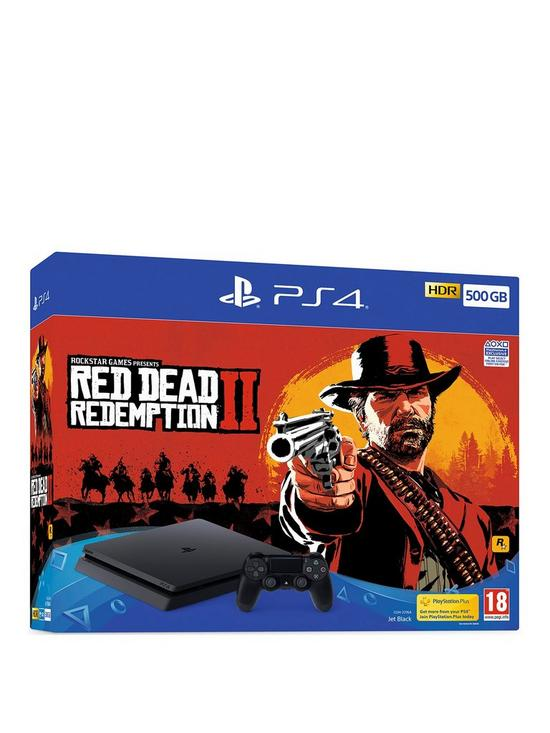 Red Dead Redemption 2 500Gb Console Bundle with Optional Extras
