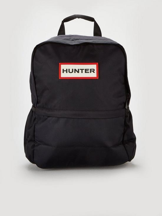 5653d5a76f Hunter Original Nylon Logo Backpack - Black