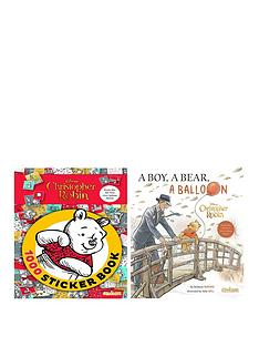 winnie-the-pooh-christopher-robin-movie-1000-sticker-book-deluxe-picture-book