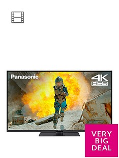 Panasonic TX-49FX550B 49 inch, 4K Ultra HD, HDR, Freeview Play, Smart TV
