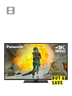 Panasonic TX- 43FX550B 43 inch, 4K Ultra HD, HDR, Freeview Play, Smart TV