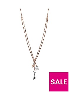 emporio-armani-emporio-armani-rose-gold-stainless-steel-necklace-with-key-padlock-and-dragonfly-pendant