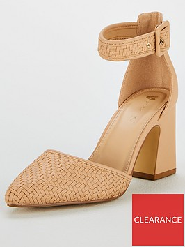 v-by-very-charlotte-woven-2-part-point-court-shoe-nude