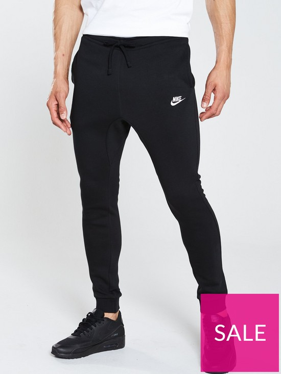 925ee0d8e0baa9 Nike Sportswear Club Fleece Joggers - Black | very.co.uk