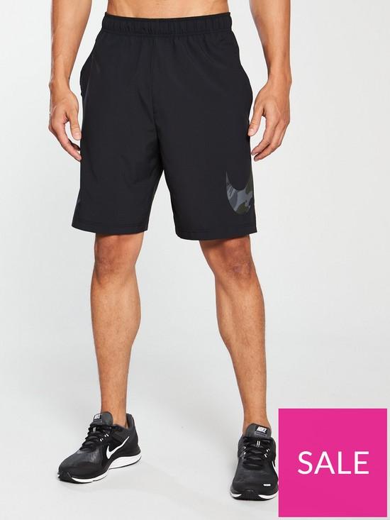 b0d0651907 Nike Flex Camo Swoosh Woven Training Shorts   very.co.uk
