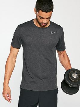 nike-hyper-dry-training-t-shirt-black-heather