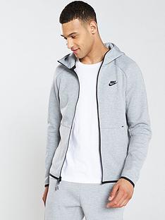 Nike Sportswear Tech Fleece Full Zip Hoodie - Dark Grey 87cc35141