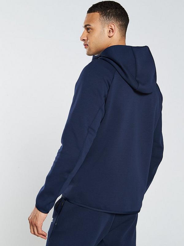 Nike Sportswear Tech Fleece Full Zip Hoodie Obsidian Very Co Uk