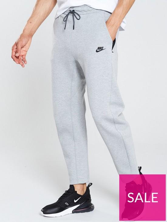 59a22c7a772 Nike Sportswear Tech Fleece Joggers - Dark Grey Heather | very.co.uk