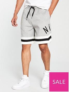 nike-sportswear-air-fleece-shorts-dark-grey-heather