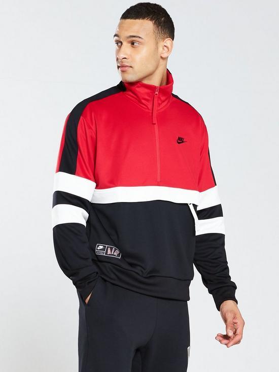defc02ba17dd Nike Sportswear Air Half Zip Jacket - University Red