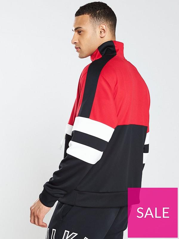 6bce254bc6ec78 Nike Sportswear Air Half Zip Jacket - University Red | very.co.uk