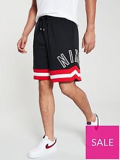 nike-sportswear-air-fleece-shorts-black