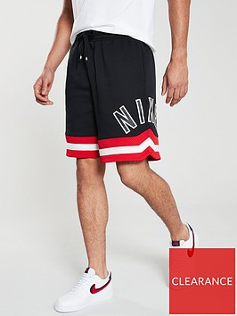 nike-sportswear-air-fleece-shorts-black