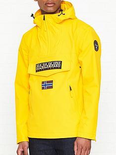 napapijri-rainforest-pocket-anorak-yellow