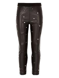 river-island-girls-black-studded-leggings