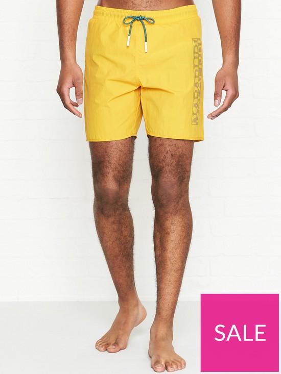 0bbbe0fd344dd NAPAPIJRI Varco Swim Shorts - Yellow | very.co.uk