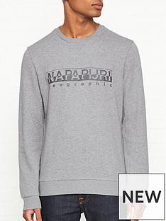 napapijri-bevora-print-sweatshirt-grey