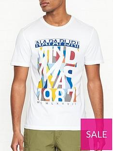 napapijri-saynte-print-t-shirt-white