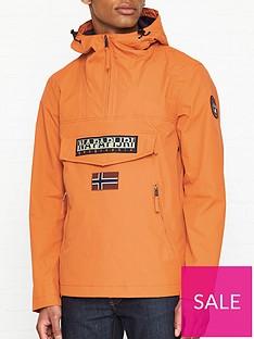 napapijri-rainforest-pocket-anorak-orange