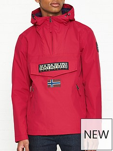 napapijri-rainforest-pocket-anorak-red