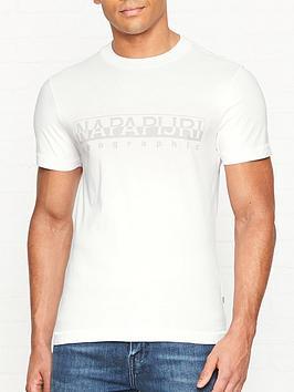 napapijri-sevora-napapijri-print-t-shirt-white